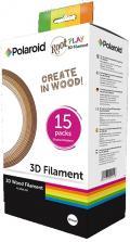 Wkład / Filament do DŁUGOPISU Polaroid ROOT 3D PEN - Druk w drewnie - 15 szt. / 75 metrów